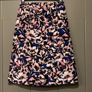 J Crew high waisted a line skirt